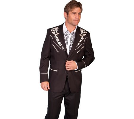 Scully Floral Embroidered Western Jacket product image