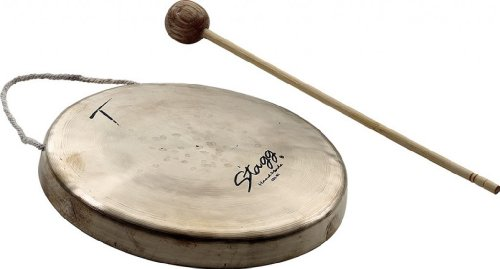 Stagg MSG-165 6.5-Inch Mini Stilt Gong by Stagg
