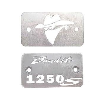 Cubre tapón del depósito de líquido de Freno y Embrague para Suzuki GSF1250 Bandit (2 Piezas): Amazon.es: Coche y moto