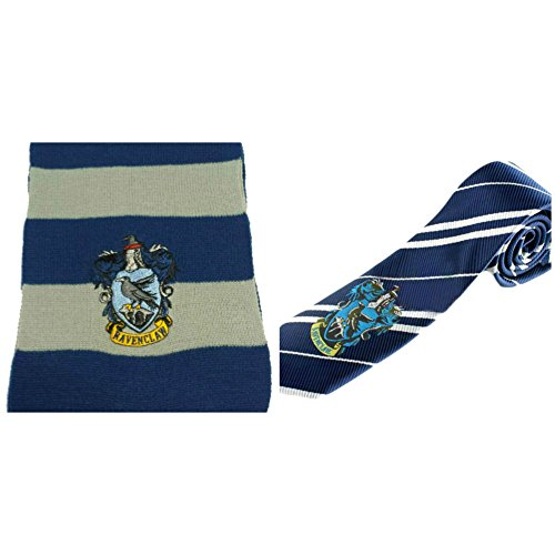 Life Size Godzilla Costume (InspireMe Family Owned Harry Potter House Crest Gift Set Comes with (1) Tie and (1) Scarf (Ravenclaw-Blue/Gray))