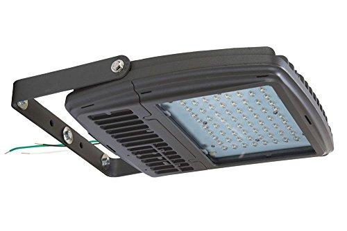 90 Watt LED Wall Pack Light - 400W Metal Halide Equivalent - 30 LEDs - 50' Cord - 120-277V(-L6-20 Twist) 400w 50' Cord