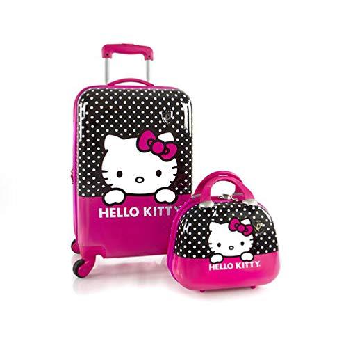 "Heys America Hello Kitty 21"" Spinner & Beauty Case Pink One Size"