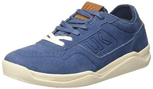 Sneaker Uomo Collo Spin Lumberjack Blu a Basso Jeans UwPz4