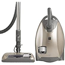 Kenmore Elite 81714 Pet Friendly Ultra Plush Bagged Canister Vacuum in Champagne/Gray