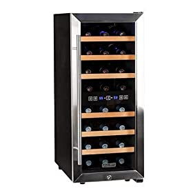 Koldfront Bottle Free Standing Dual Zone Wine Cool...