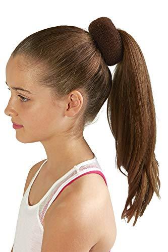 Bloch Unisex-Adult's Hair Bun Builder, brown, one