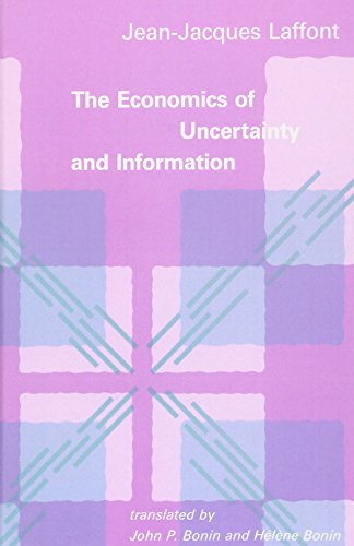 The Economics of Uncertainty and Information (The MIT Press)