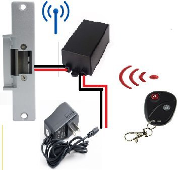 Door Access Control System Controller ABS Case RFID Reader(Single) - 4