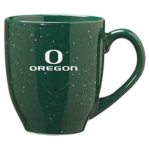(LXG, Inc. University of Oregon - 16-Ounce Ceramic Coffee Mug - Green)