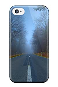 Fashion Tpu Case For Iphone 4/4s- Road Defender Case Cover
