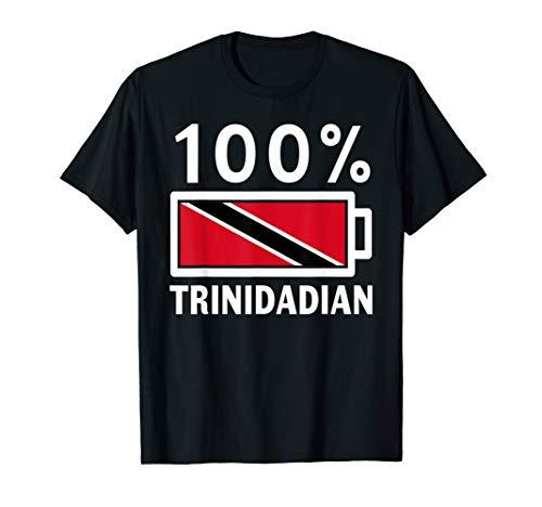 Trinidad & Tobago Flag | 100% Trinidadian Battery Power ()