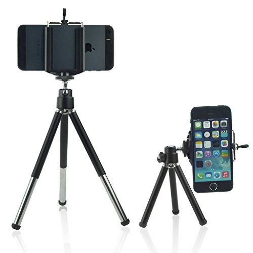 - I-Sonite (Tripod Phone Holder) Adjustable Mini 360 Rotatable Tripod Stand With Phone Clip Holder For Archos Sense 55S