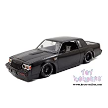 97178 Jada Toys Fast & Furious - Dom's Buick Grand National s0k019co8 Hard Top (1/18 scale diecast model car, mrdkni72i Black) 97178 diecast car model 97178 Jada Toys Fast & F