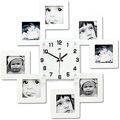 com byeon d sleek mini st photo wall clock