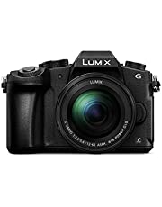 "Panasonic Lumix DMC-G81MEG-K - Cámara Digital de 16 MP (Pantalla de 3"", Zoom óptico 5X, 4K, Lumix G Vario Power Ois ASPH), Color Negro"