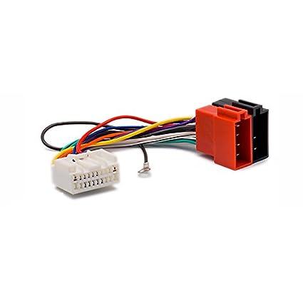 amazon com carav 12 130 iso radio adapter for mitsubishi for new 20 rh amazon com