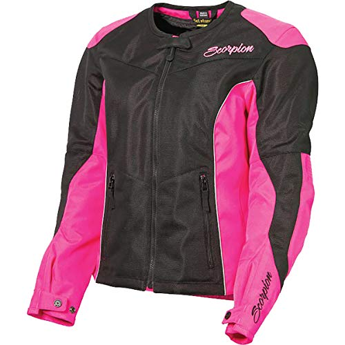 ScorpionExo Verano Women's Textile Sport Motorcycle Jacket (Pink, X-Large) ()
