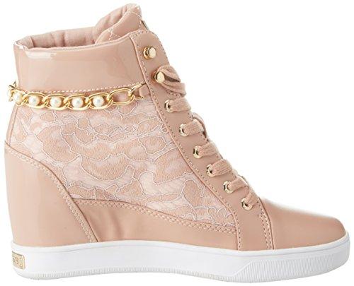 GUESS Footwear Active Lady, Zapatillas Altas Para Mujer Rosa (Light Pink)