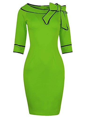 celebrity fashion green dress - 8