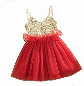 Bela baby Red Dress For Girls