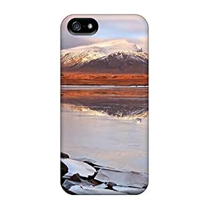 Ultra Slim Fit Hard RoccoAnderson Cases Covers Specially Made For Iphone 5/5s- Lake Mountains