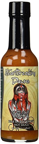 Heartbreaking Dawns 1841 Ghost Pepper Sauce, 5Oz