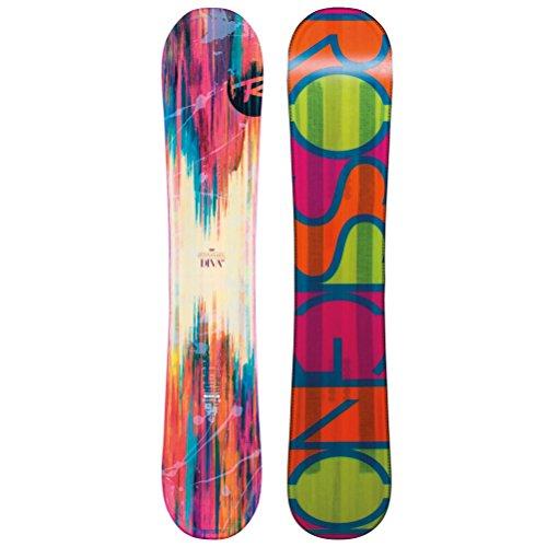 Skis Around Twin Tip (Rossignol Women's Diva Magtek: All Mountain Snowboard - 148 cm)
