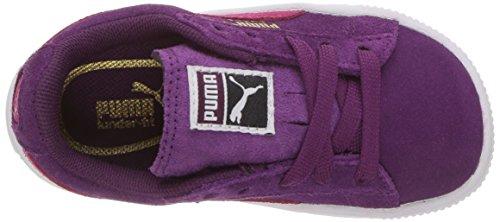 Puma Kids Suede Sneaker Dark Purple-love Potion