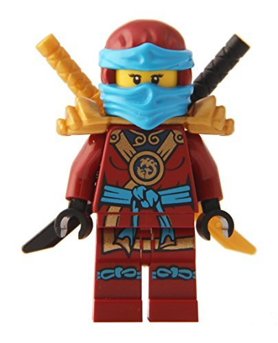 LEGO® Ninjago: Minifigure - Nya Deepstone Minifig with Armor and Swords -