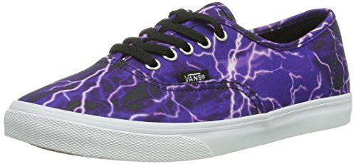 Vans Unisex Authentic (tm) Lo Pro Sneaker (Digi Lightning) Schwarz / True White