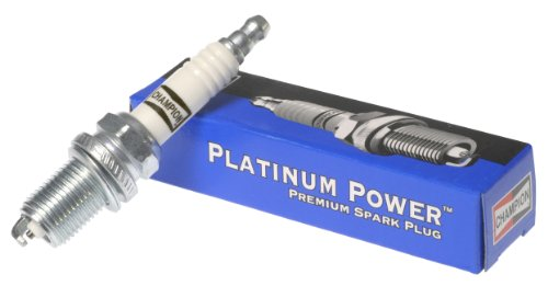 Champion 3408 (3408) Platinum Power Spark Plug, Pack of 1 (Ranger Wires Ford Plug Spark)