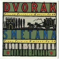 Dvorak String Sextet ; Smetana Piano Trio in G minor op 15 (Nonesuch)