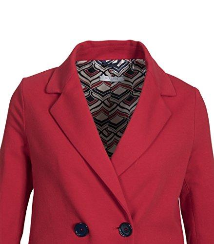 CIRCOLO 1901 Damen Mantel in strahlendem Rot 294 Papavero lJOsKPB