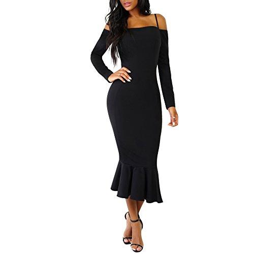 kmart black maxi dress - 4