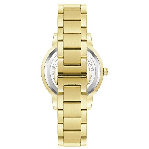 Cardqiou Women Watch, Stainless Steel Watch, Waterproof Quartz Dress Wristwatch by Cardqiou (Image #5)