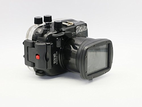 Polaroid SLR Dive Rated Waterproof Underwater Housing Case For The Canon M3 Camera with a 18-55mm Lens by Polaroid