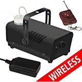 GBL® Machine à fumée 900W Noir - Telecommande Sans Fil / Wireless (900w)
