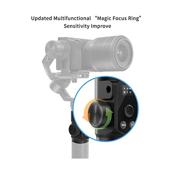 FeiyuTech G6 Max Stabilizzatore Gimbal per Mirrorless Smartphone Sports Camera Sony a6500, RX100, Gopro 9 8 7 6 5, Smartphone iPhone 11 Pro Max Huawei P30 P20+ Samsung s10+,1.2Kg Payload, Splash Proof 4 spesavip