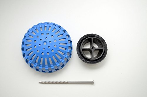 3 Inch Permadrain Locking Dome Strainer Kit. Fits Zurn, Oatey, Wade, Josam, and Other Drain Brands