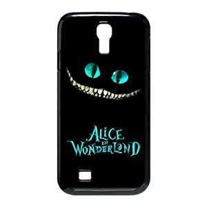 Classic Case lovely Cheshire Cat in Wonderland Adventure theme pattern Design For Samsung Galaxy S4 I9500 Phone Case
