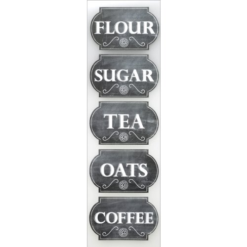Sticko 309830 Chalk Label Stickers, Canister Labels