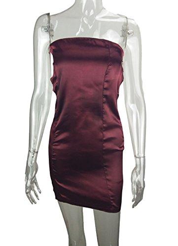 Sommer Kurz Kleid Damen Fashion Bandage Hollow Minikleid Club Sexy ...