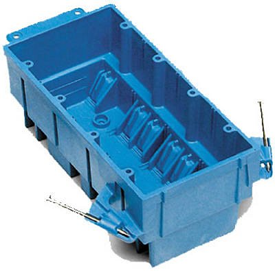 Thomas & Betts BH464A 4 Gang New Work SuperBlue™ Outlet Box