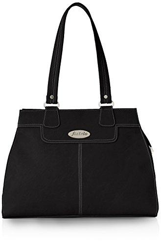 Fostelo Women's Handbag (Black) (FSB-309)