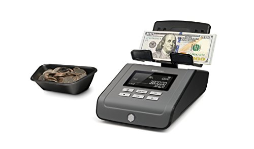 Safescan 6165 Money Scale - Money Counting Scale for Coins & Banknotes