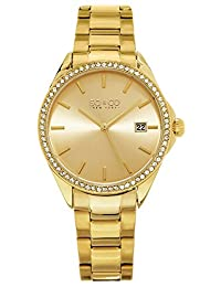 SO & CO New York Women's 5213.3 Madison Quartz Gold Wrist Watches