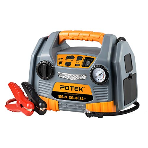 POTEK Jump Starter Source with 1...
