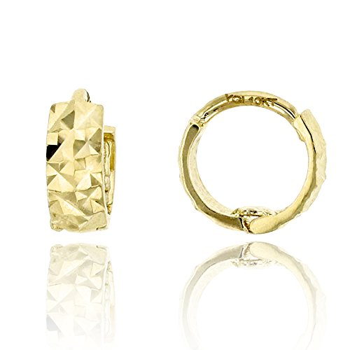 10k-yellow-gold-diamond-cut-250x600mm-baby-huggie-earring