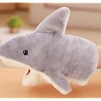 Andensoner Marioneta de Mano de tiburón, Marionetas de Mano de Animales Animales Marioneta de Mano de tiburón Gris Animal