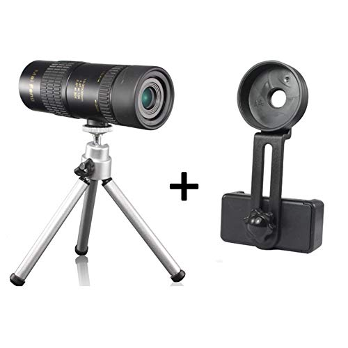 HUIGE Monocular Telescope Mobile Phone Camera 10-30x30 high-Definition Night Vision Telescopic Zoom Single Cylinder Mini Glasses -